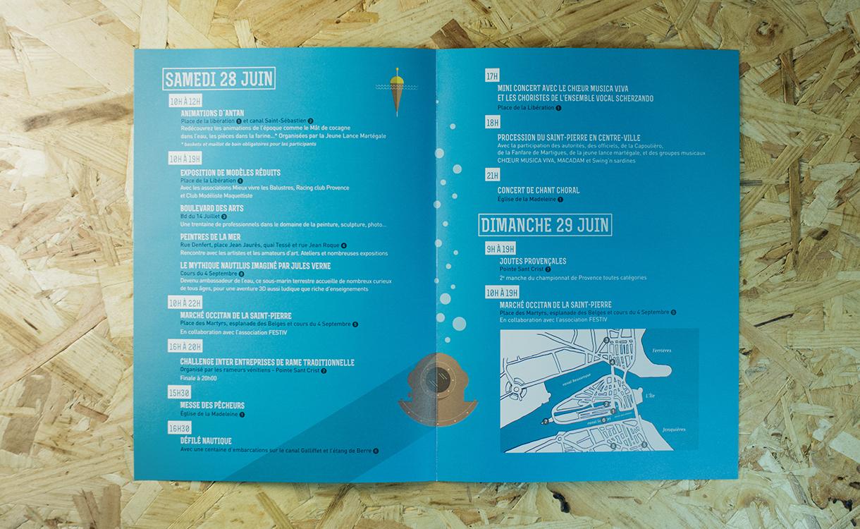 Dépliant-programme de la fête de la mer - pages intérieures