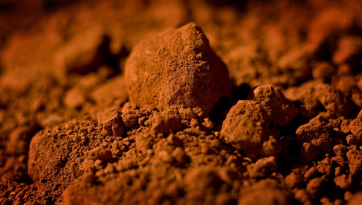 La bauxite et sa poussière