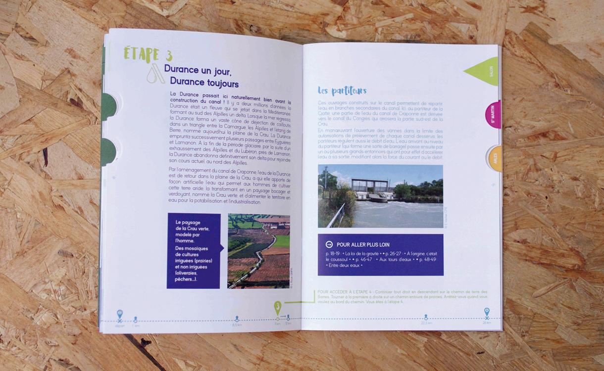 Marseille, topoguide, CPIE, communication