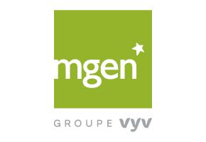 Logo MGEN - Groupe VYV - communication économie sociale et solidaire